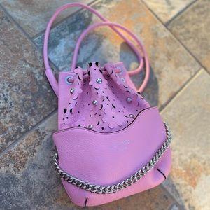 Meli Melo Hetty Peony Pink Daisy Laser Cut Bag